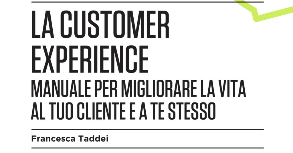 Oggi esce l'ebook sulla customer experience